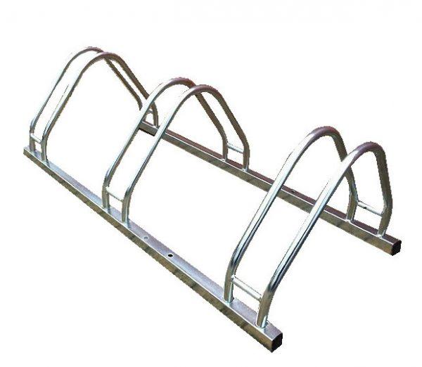 Soporte metálico para bicicletas de acero