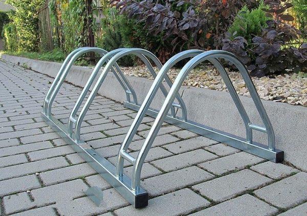 Soporte de acero galvanizado para bicicletas