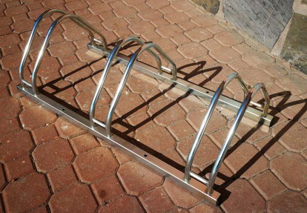 Oferta posabicicletas metálico para exteriores