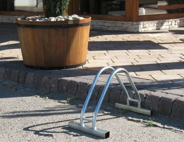 Aparcamiento para bici para mobiliario urbano