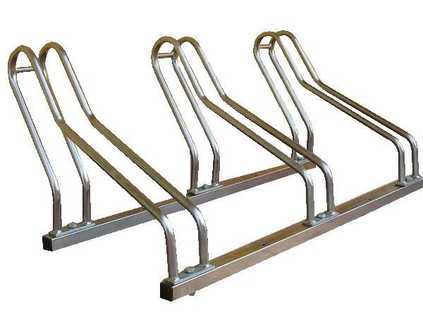 Venta de soportes galvanizados para bicicletas