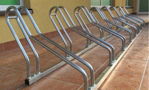 Soporte para bicicletas de acero galvanizado