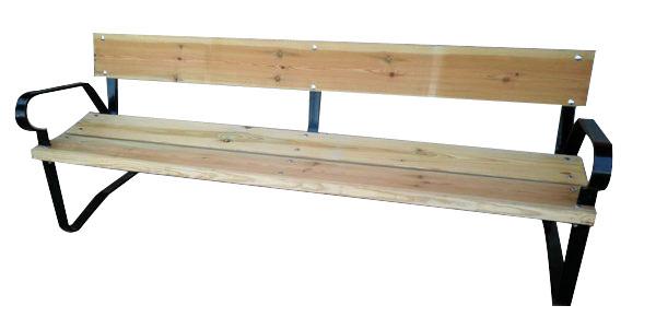 Comprar mobiliario urbano de madera para exterior