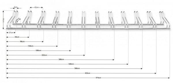 Venta de accesorios para mobiliario urbano aparcabicicletas
