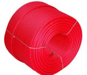 Descuento de cuerda armada, color rojo