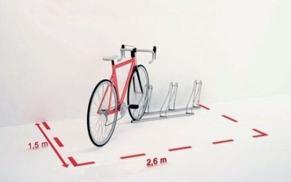 Comprar parking para bicicletas de acero