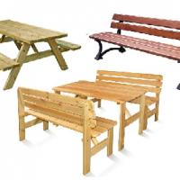 Muebles de mobiliario urbano y jardín