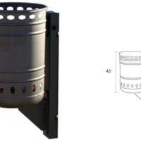 Papelera urbana para colgar 15VLN12015