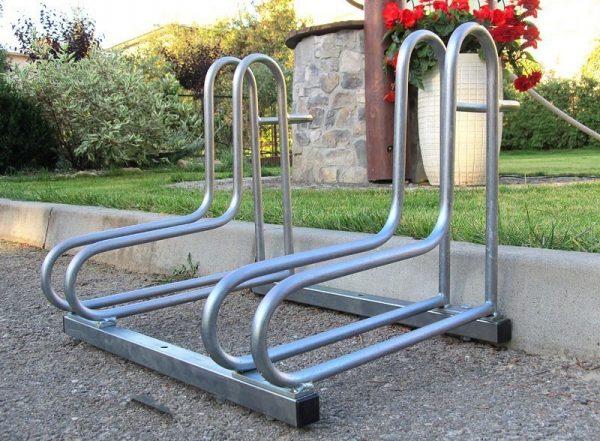 Parking para bicis de hierro