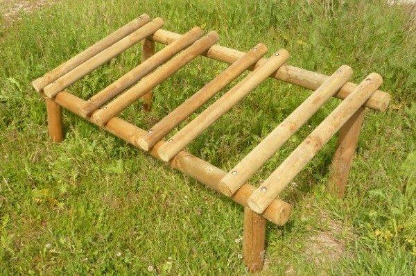Soporte madera para bicis 09VLN9001