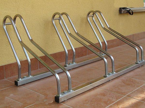 Parking para bicicletas de acero para exteriores