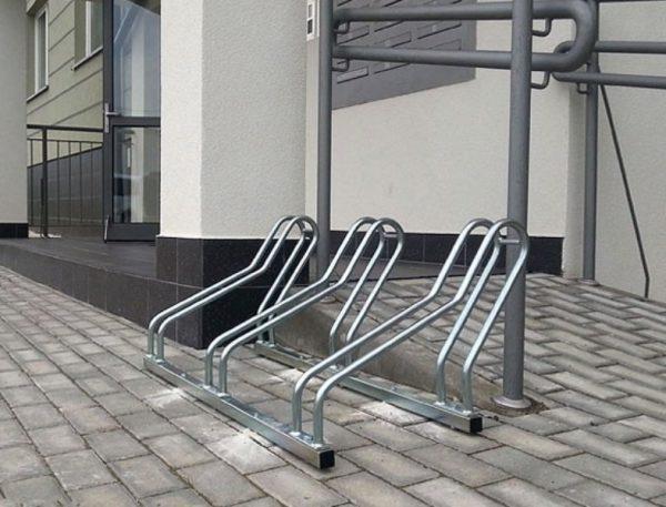 Aparcamiento para bicicletas de acero galvanizado