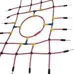 Redes para escalada de cuerda armada