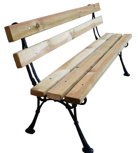 Venta de mobiliario urbano de madera