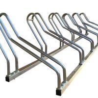 Posabicicletas de acero galvanizado urbano