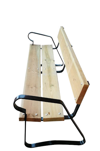 Venta de muebles con soportes metálicos para exterior