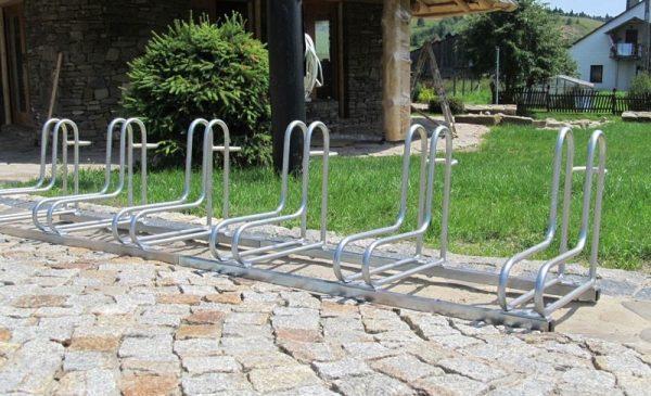 Soportes para bicicletas de acero galvanizado