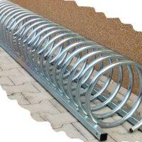 """Portabicicletas de acero galvanizado """"ESPIRAL"""" 09VLN2115"""
