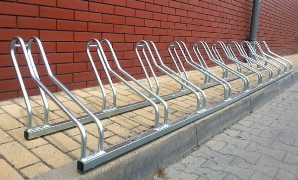 Comprar aparcabicicletas de acero para exterior