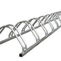 Soportes de acero urbano para bicicletas