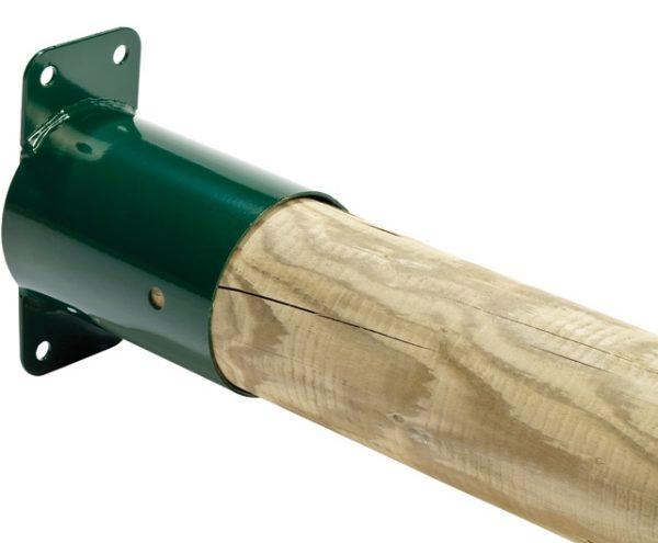 Venta de corners para columpios infantiles. Para madera redonda.