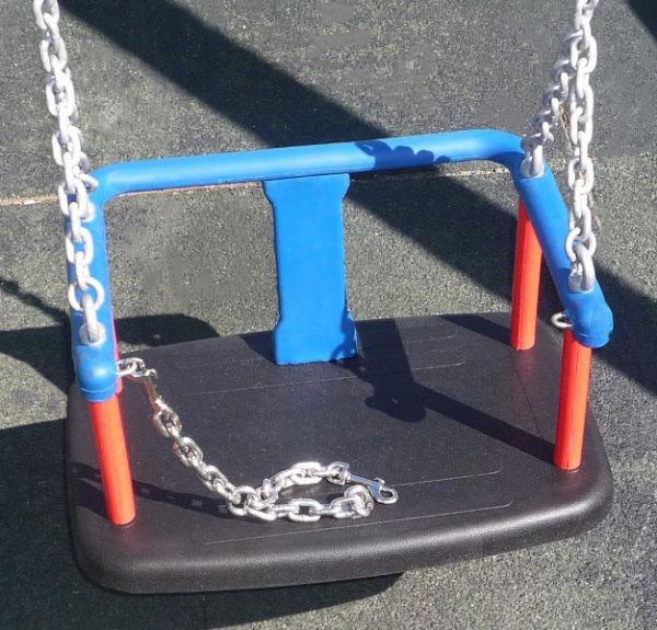 Comprar cesta para bebé con cadenas de acero