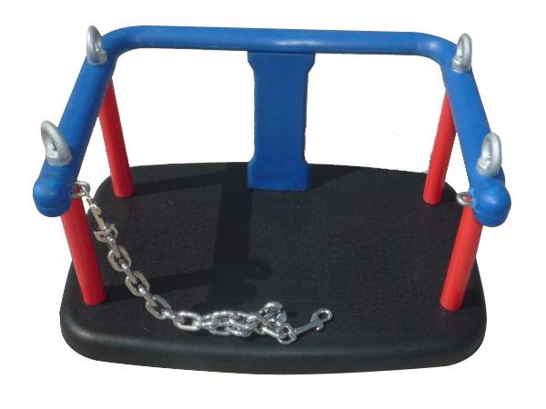 Asiento infantil para bebés con cadenas de seguridad