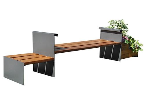 Bancos exterior madera jardinera GMB12028MD