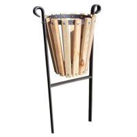 Papelera abatible madera exterior GMP12103MD