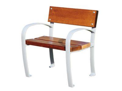 Silla madera mobiliarios urbanos GMB12091MD
