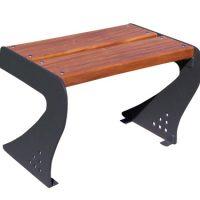 Taburete madera patas acero GMB12023MD