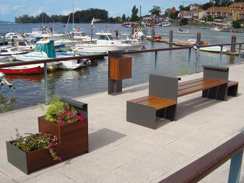 Venta de mobiliario urbano
