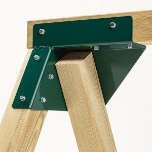 Ángulos columpios madera cuadrada 8271021