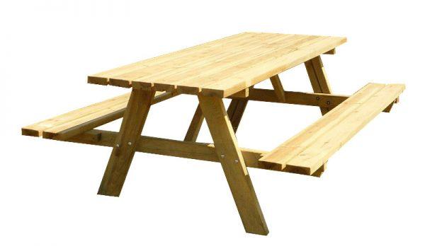 Comprar bancos y mesas de madera