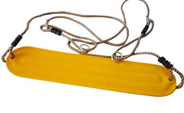Asiento flexible con cuerdas
