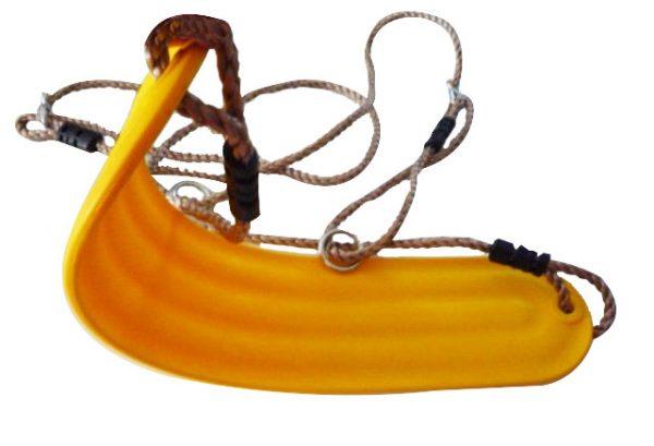Asientos con cuerdas para columpios