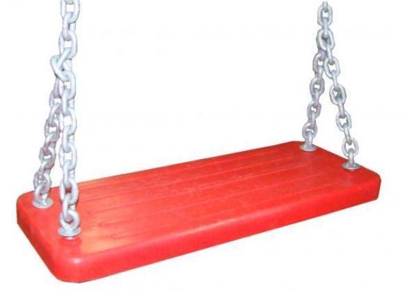 Asiento cadenas parques infantiles
