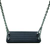 Oferta de silla de caucho con cadenas para columpios infantiles