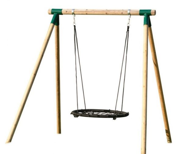Columpio infantil madera redonda 03VLN1009.