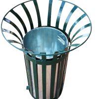 Urnas metálicas urbanas para exterior, mobiliario urbano
