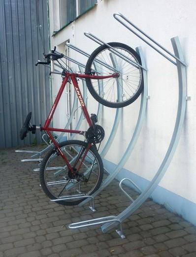 Comprar estacionamientos metálicos de acero para bicicletas