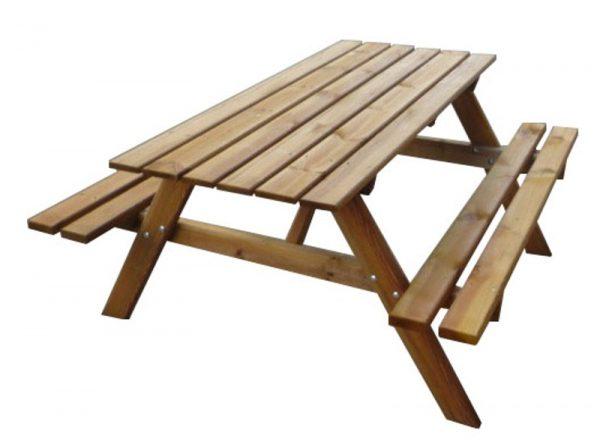 Mesa picnic madera tratada 01VLN4007