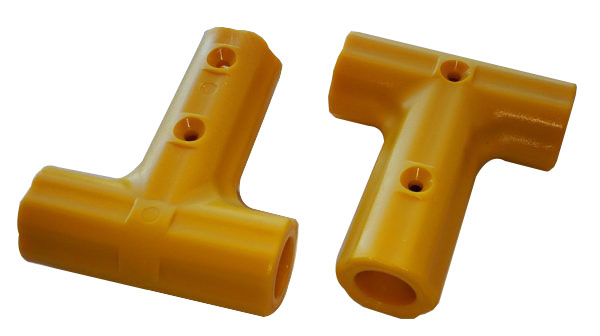 Conectores para redes de escalada de plástico