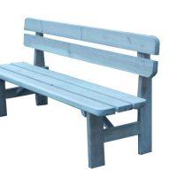 Muebles de madera de pino tratado para jardín