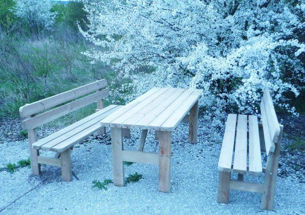 Venta de muebles de madera para exterior