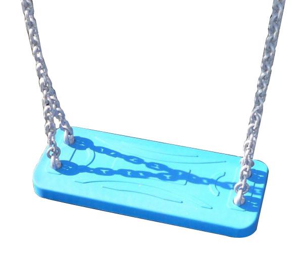 Sillas de caucho planas con cadenas de acero para niños