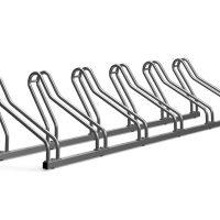 Precio aparcabicicletas de acero. Comprar accesorios para mobiliario urbano de uso público. Parking para bicis de acero inoxidable.