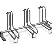 Venta de soportes. Aparcamientos para bicicletas de acero galvanizado. Comprar accesorios para mobiliario urbano de uso público.