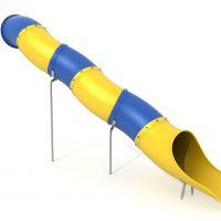 Comprar tobogán montable. Accesorios para parques infantiles. Tobogán modulable multicolor para áreas de juegos en exteriores.