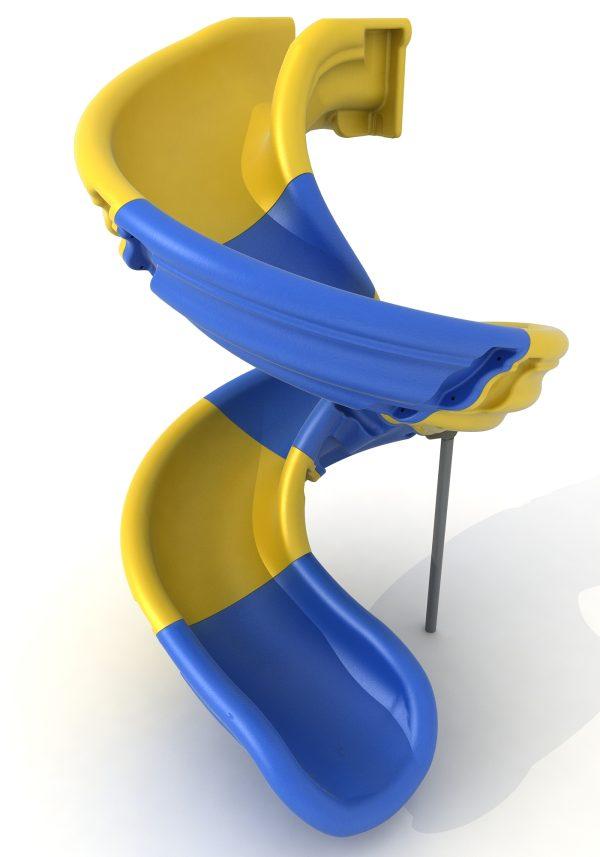 Venta de toboganes infantiles. Accesorios para parques infantiles. Tobogán modulable multicolor para áreas de juegos en exteriores.